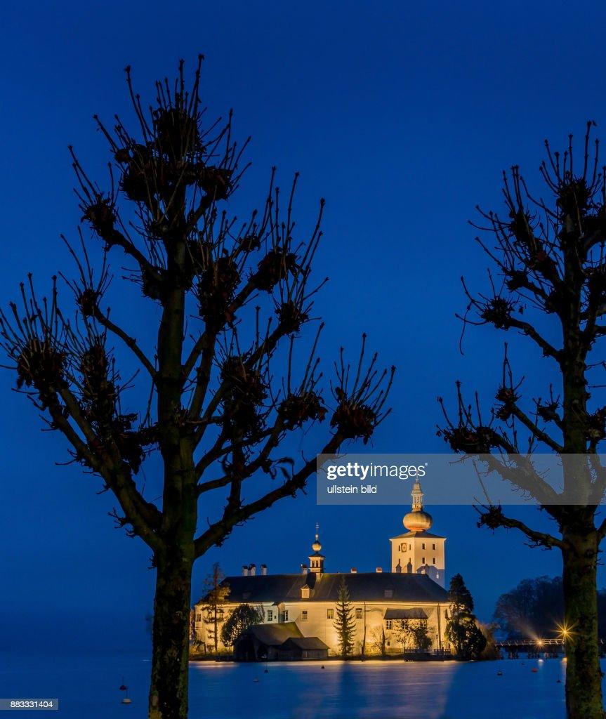 Österreich, Gmunden. Schloss Ort Pictures | Getty Images