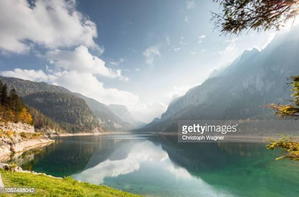 österreich salzkammergut - gosausee - see stock-fotos und bilder