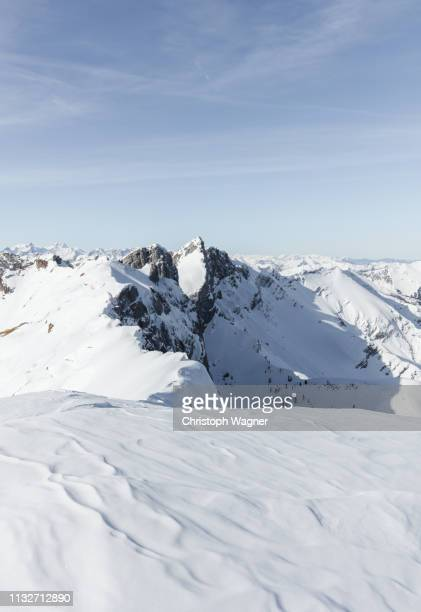 österreich tirol - achensee winter - sonne stock pictures, royalty-free photos & images