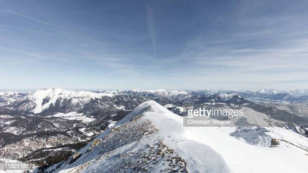 österreich tirol - achensee winter - tourismus stock pictures, royalty-free photos & images