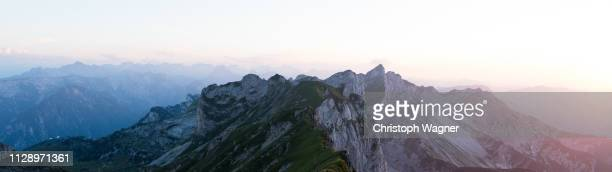 österreich tirol - rofanspitze - freizeitaktivität imagens e fotografias de stock