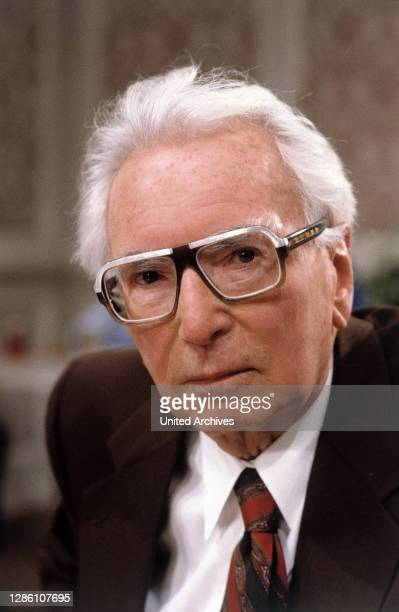 österreichischer Neurologe und Psychiater. Begründer der Logotherapie bzw. Existenzanalyse . Porträt aus den 1990er Jahren. / PROFESSOR VICTOR E....