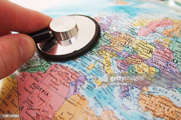 Stethoscope and Europe