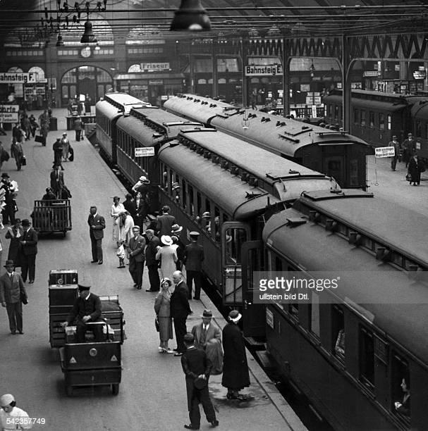 Stettiner Bahnhof Berlin 1938