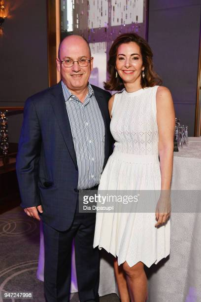 Steve A Cohen and Ilana D Weinstein attend the Lincoln Center Alternative Investment Industry Gala on April 16 2018 at The Rainbow Room in New York...