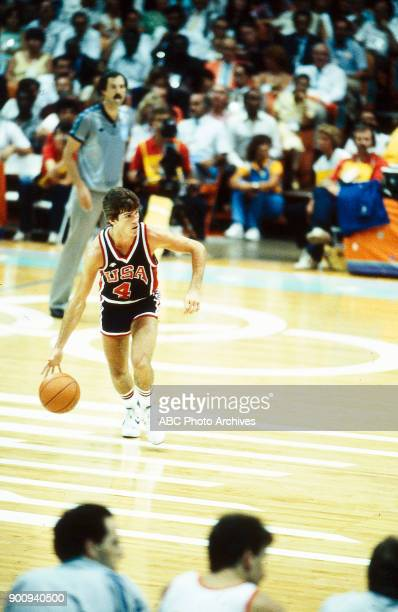 Steve Alford Men's Basketball USA vs Spain the Forum at the 1984 Summer Olympics August 10 1984