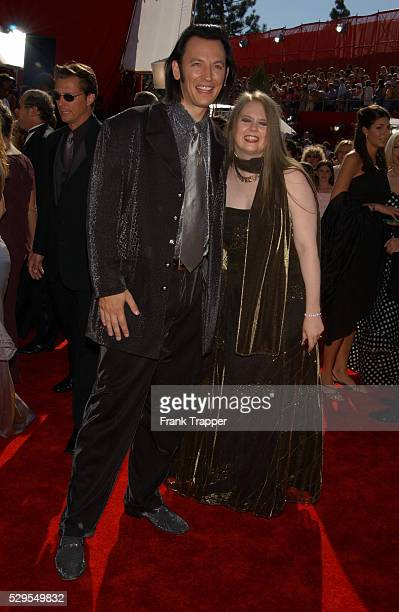 Steve and Shari Valentine arriving at the 54th Annual Prime Time Emmys