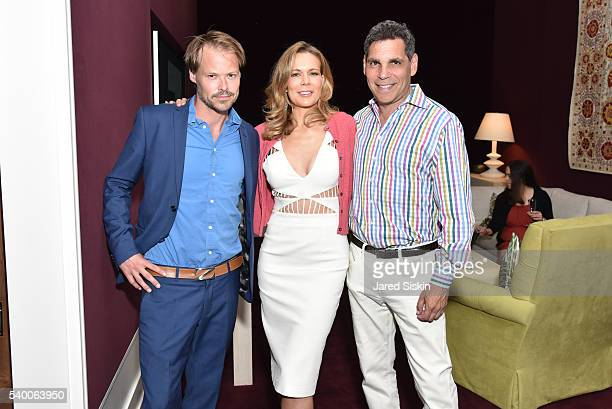 Steve Anderson Erin Gibbs and Jack Wiener attend ABT Spring Assemble at 201 East 57th Street on June 13 2016 in New York City