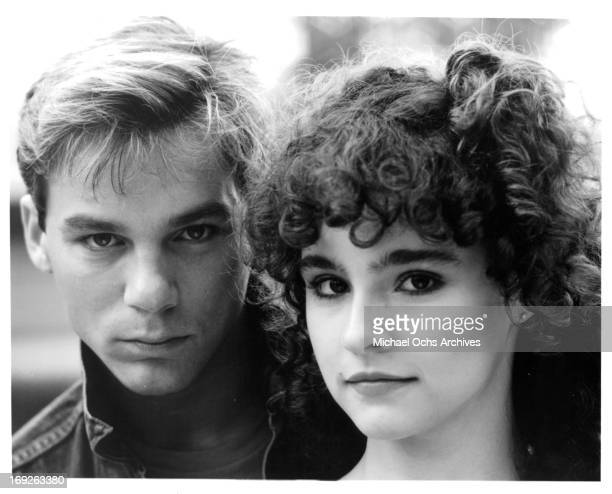 Steve Antin And Diane Franklin In Publicity Portrait For The Film The Last American Virgin