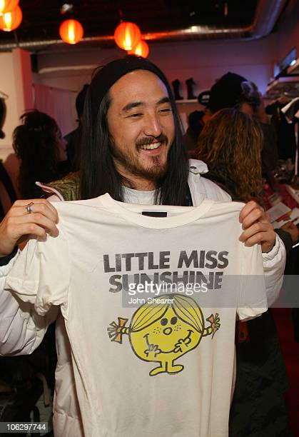 Steve Aoki At Mr. Men & Little Miss during 2007 Park City - Village at the Lift - Day 5 at Village at the Lift in Park City, Utah, United States.