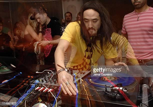 DJ Steve Aoki at Social Miami at the Sagamore Hotel presented by Heineken Premium Light