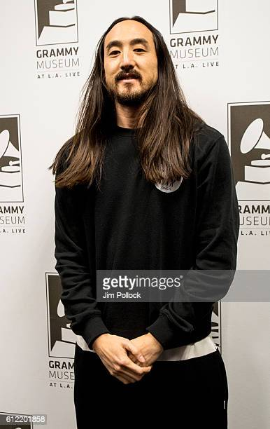 Steve Aoki at The GRAMMY Museum on September 28 2016 in Los Angeles California