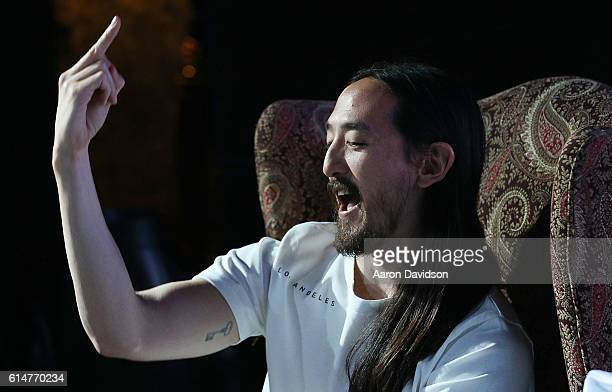 Steve Aoki attends 973 Hits Sessions at Revolution on October 14 2016 in Fort Lauderdale Florida