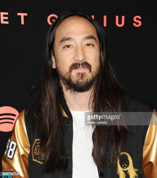 Steve Aoki attends Spotify's inaugural Secret Genius Awards at Vibiana Cathedral on November 1 2017 in Los Angeles California