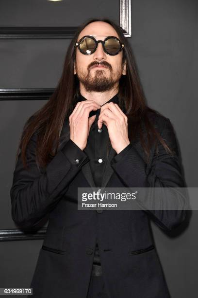 Steve Aoki attends The 59th GRAMMY Awards at STAPLES Center on February 12 2017 in Los Angeles California