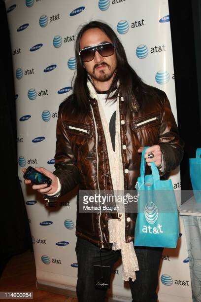 DJ Steve Aoki attends the House of Hype Hospitality Lounge Day 2 on January 23 2010 in Park City Utah