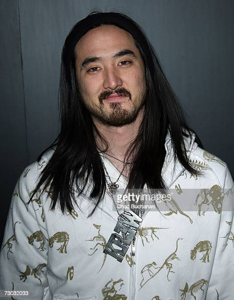 Steve Aoki attends Trump Vodka launch party at Les Deux on January 17, 2007 in Los Angeles, California.