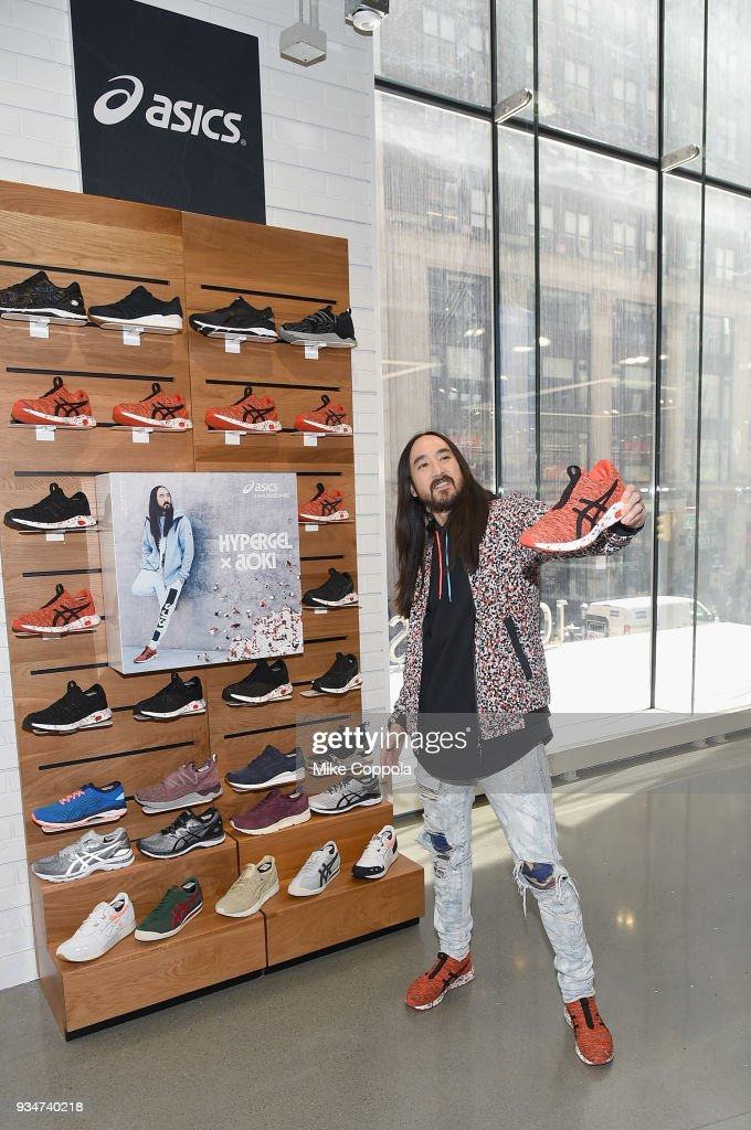 ASICS Celebrates The Launch Of The Brand's Newest HYPERGEL Footwear Franchise Unveiling The HYPERGEL-KENZEN Exclusively At Foot Locker, Inc.