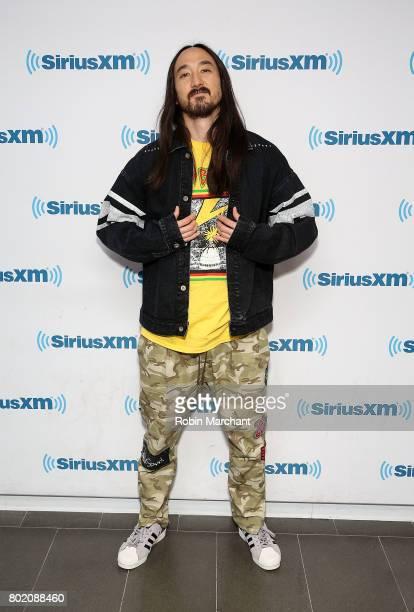Steve Aoki visits at SiriusXM Studios on June 27 2017 in New York City