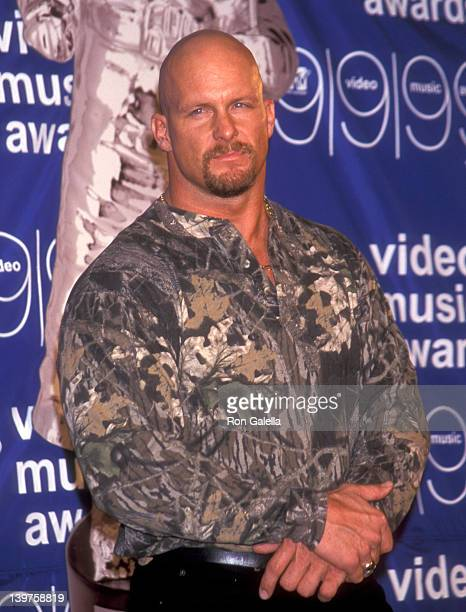 Steve Austin attends 16th Annual MTV Video Music Awards on September 9 1999 at the Metropolitan Opera House at Lincoln Center in New York City