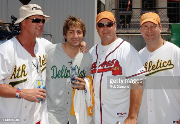 Steve Azar, Jim McMahon - Former QB Chicago Bears, Dave Archer - Former QB Atlanta Falcons and Gino Torretta