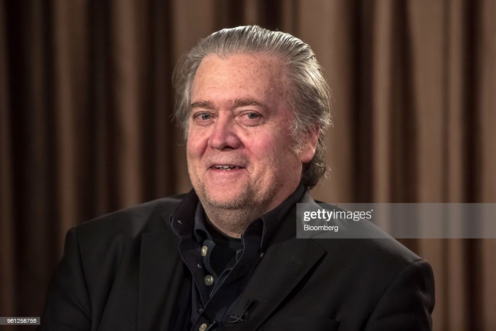 Former Chairman Of Breitbart News Steve Bannon Interview