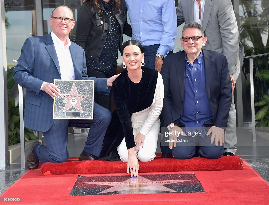 Capitol Records Receives A Star On The Hollywood Walk Of Fame
