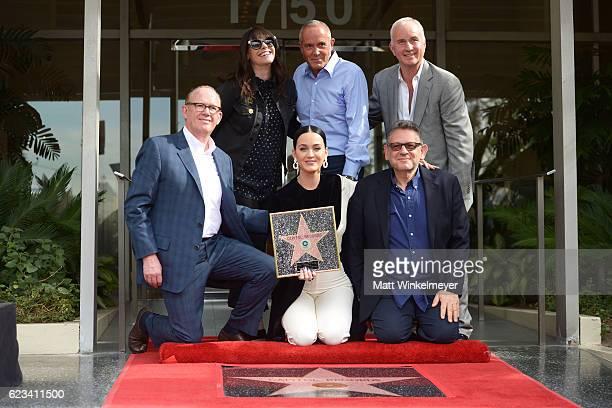 Steve Barnett Chairman Chief Operating Officer Capitol Music Group Michelle Jubelirer Chief Operating Officer Capitol Music Group singer Katy Perry...