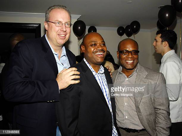 Steve Bartels, GM of Island Def Jam Group, Phil Robinson, chief of staff for Island Def Jam Group and LA Reid, chairman of Island Def Jam Group
