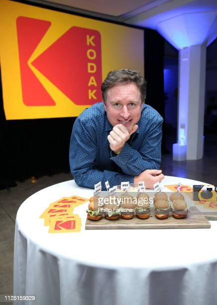 Steve Bellamy Kodak President of Motion Picture and Entertainment attends the 3rd annual Kodak Awards at Hudson Loft on February 15 2019 in Los...