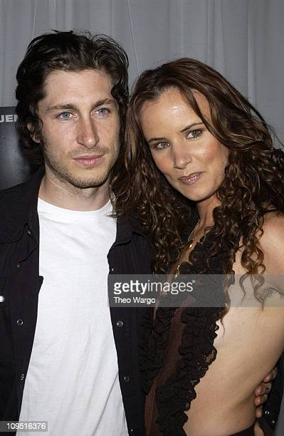 Steve Berra and Juliette Lewis during Enough New York City Premiere After Party at Roseland in New York City New York United States