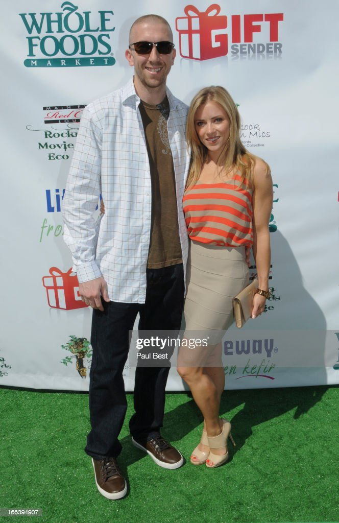 Steve Blake and Kristin Blake attend 3rd Annual Rockn Rolla Movie Awards Eco Party on April 11, 2013 in Los Angeles, California.