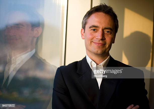 Steve Boom, senior vice president of Yahoo! Inc.'s broadband access and mobile services, poses for a portrait during the GSMA Mobile Asia Congress in...