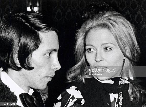 Steve Brandt and Faye Dunaway during 'Dear World' Premiere February 6 1969 at New York City Theater in New York City New York United States