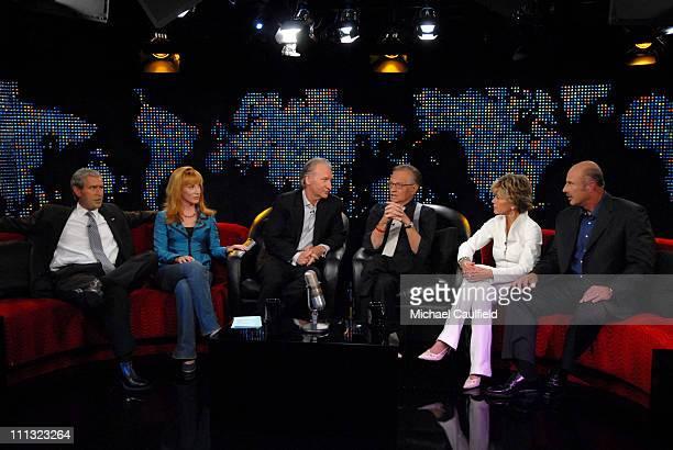 Steve Bridges Kathy Griffin Bill Maher Larry King Jane Fonda and Dr Phil McGraw 13193_MC_0317JPG