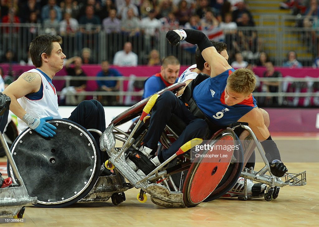 2012 London Paralympics - Day 8 - Wheelchair Rugby : News Photo