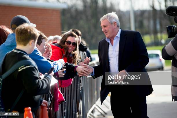 Steve Bruce manager of Aston Villa during the Sky Bet Championship match between Rotherham United and Aston Villa at the New York Stadium on March 04...