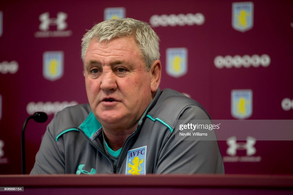 Aston Villa Press Conference