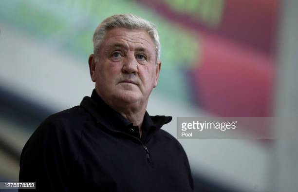 Steve Bruce, Manager of Newcastle United ahead of the Carabao Cup third round match between Morecambe and Newcastle United at Globe Arena on...
