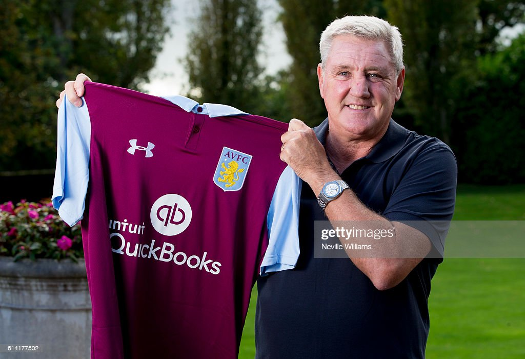 Aston Villa Unveil New Manager Steve Bruce