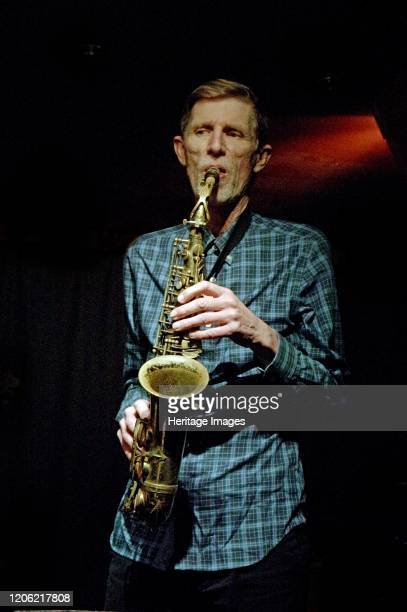 Steve Buckely, Zone-B, Verdict Jazz Club, Brighton, East Sussex, 13 Dec 2019. Artist Brian O'Connor.