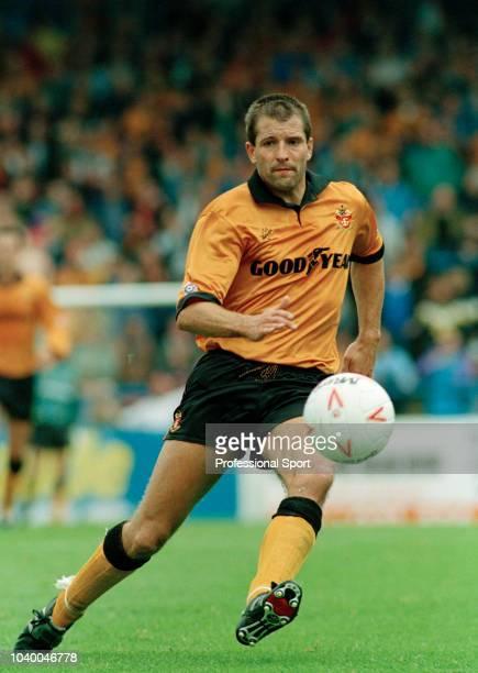 Steve Bull of Wolverhampton Wanderers in action circa 1994