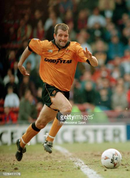 Steve Bull of Wolverhampton Wanderers in action during the FA Cup Quarter Final between Crystal Palace and Wolverhampton Wanderers at Selhurst Park...