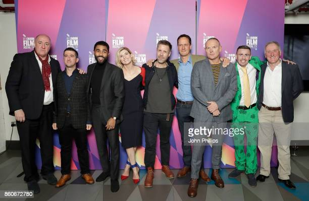 Steve Bunce Paul Popplewell Anthony Welsh Jodie Whittaker Paddy Considine Diarmid Schrimshaw Tony Pitts guest and John Rawling attend a screening...