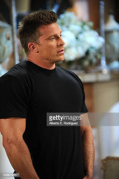 Steve Burton in a scene that airs the week of September 27th on ABC's GENERAL HOSPITAL