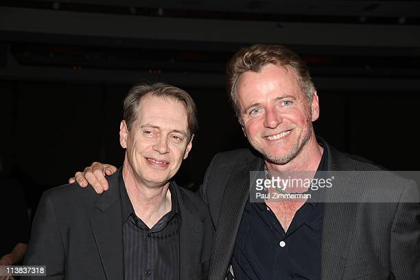 Steve Buscemi and Aidan Quinn attend The Center For Discovery 2011 Gala at Pier Sixty at Chelsea Piers on May 7 2011 in New York City