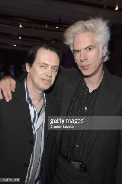Steve Buscemi and Jim Jarmusch during IFP's 15th Annual Gotham Awards - Inside at Pier 60 at Chelsea Piers in New York City, New York, United States.