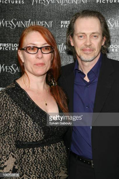 Steve Buscemi and Joe during Paris Je T'aime Yves Saint Laurent New York Premiere Arrivals at Paris Theatre at 4 West 58th Street in New York City...