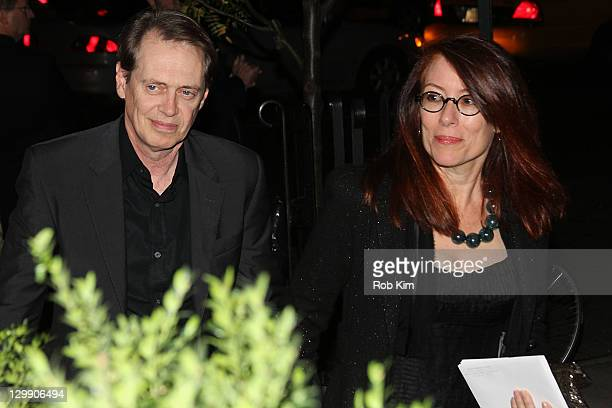 Steve Buscemi and wife Jo Andres attend Paul McCartney's Nancy Shevell's party at The Bowery Hotel on October 21 2011 in New York City