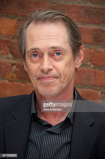 Steve Buscemi at the 'Boardwalk Empire' Press Conference at Tribeca Grill on October 14 2014 in New York City